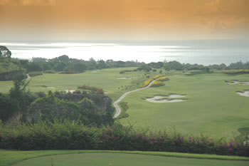 Golf and Sea in Barbados